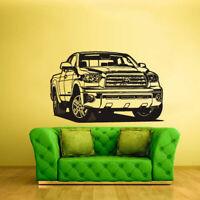 Wall Vinyl Sticker Bedroom Decal Auto Car Truck Garage Tundra (Z2416)