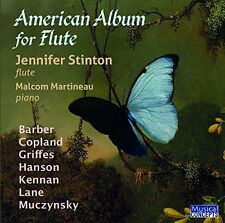Jennifer Stinton, Ma - American Album for Flute [New CD]
