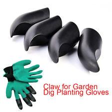 4PCS ABS Safety Work Gloves Builders Grip Gardening Dig Planting Gloves Mittens