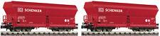 Fleischmann 852318 N Two Self-unloading Wagon Designed Falns 183 DBAG