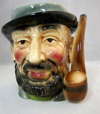 Head Vase Old Man with Pipe from 50's - 60's No Label