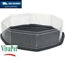 VivaPet Octagon Rabbit/Puppy/HAMSTERS/Guinée/Pig/CAT/Kitten Run Cage Pen with...