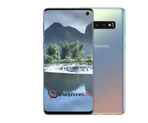 Samsung Galaxy S10 SM-G973F/DS 128GB Prism Silver Silber Ohne Simlock  NEUWARE