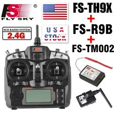 Flysky FS-TH9X 2.4G 9CH Radio Control Transmitter & Receiver RC Plane US Stock