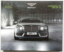 V06366 BENTLEY CONTINENTAL GTV8 & GTCV8 - 2013