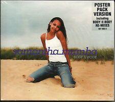 SAMANTHA MUMBA Body II 5TRX w/ RARE MIXES & EDIT w/ POSTER CD Single SEALED 2000