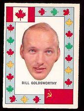 1972 O-PEE-CHEE TEAM CANADA HOCKEY CARD BILL GOLDSWORTHY MINNESOTA NORTH STARS