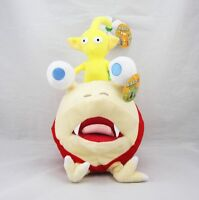"""New10"""" Bulborb Chappy Pikmin and Yellow Flower Set Plush Adorable Doll  1 set"""