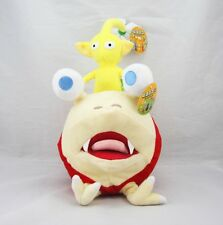 2PCS Bulborb Chappy Pikmin and Yellow Flower Set Plush Stuffed Soft Doll Toy 10""