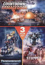 Countdown: Armageddon/Transformers: Fall of Man/The Day the Earth Stopped (DVD,
