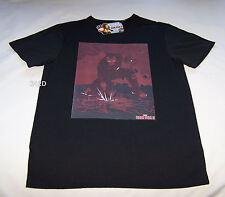 Marvel Comics Iron Man Mens Black Printed Short Sleeve T Shirt Size XXXS New