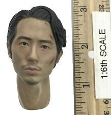ThreeZero The Walking Dead Gleen Rhee Head w/ Neck Joint 1:6th Scale Accessory