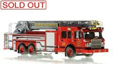 Detroit FD Spartan Smeal Ladder 27 1/50 Fire Replicas FR043-27 Sold Out New