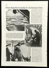 Hindenburg 1936 Maiden Flight pictorial Zepplin LZ-129