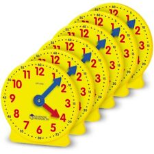 "Learning Resources Gear Clock 4"" (Set6)"