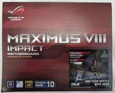 ASUS ROG MAXIMUS IMPACT VIII Intel LGA-1151 Z170 Mini-ITX Motherboard