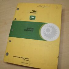 John Deere 7020 Tractor Spare Parts Catalog Manual List Book 1984 Farm Engine