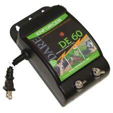Dare Products Enforcer 110 Volt Electric Powered Fence Energizer 3 Acres Black