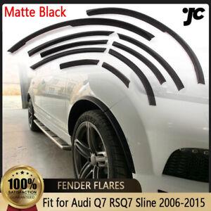 10PCS Fender Flares Wheel Arch Trim Fit for Audi Q7 S Line 2006-2015 Body Kit