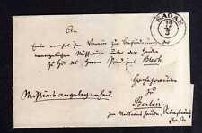 v169 Sagan Vorphila um 1840 Missionsangelegenheit nach Berlin