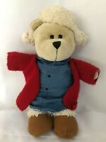 "Starbucks 2016 Collector Barista 11"" Christmas Bear Plush Stuffed Animal"