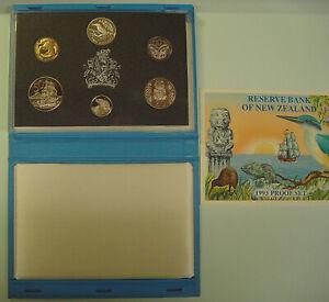 "Neuseeland KMS 1993 mit 2 Dollar ""Kingfisher"" 925er Silber - PP"