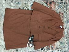NEW NWT Tuscany Rust Le Suit Woman 2pc Skirt Suit Career 24W
