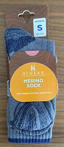 HI-GEAR  Women's Merino Socks S uk3-5
