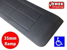 RUBBER THRESHOLD RAMP 35mm WHEELCHAIR ACCESS DISABILITY DOOR STEP WEDGE