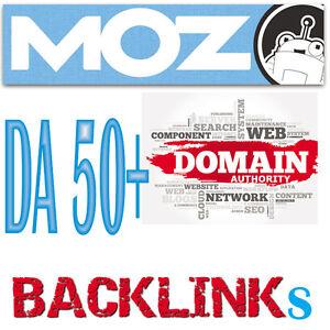 Get 50 Do-Follow Backlinks from MOZ DA  50+ websites to your site