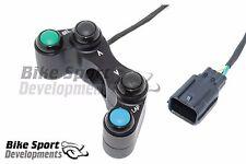 Honda CBR1000 2017 race bike 4 button handlebar switch Up_Select (mode)_Down_Lap