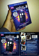 Blu-ray+DVD 3-Disc AN ADVENTURE IN SPACE AND TIME Doctor Who BBC OOP A/B/C NEW