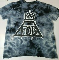 Fall Out Boy Crown Logo Tie Dye T-Shirt FOB Adult Unisex Medium Band Tee