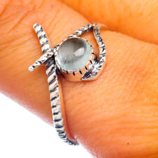 Aquamarine 925 Sterling Silver Ring Size 9.25 Ana Co Jewelry R906453F