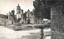 RPPC  TAMAZUNCHALE, San Luis Potosi  MEXICO   TEMPLO PARROQUIAL  MF  Postcard