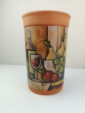 Rustic SOMMELIER Terracotta  WINE ART Wine Chiller Bottle Cooler Ex Cond Unused