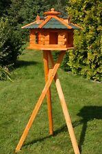 Luxus Vogelhaus XXL oder Standard,wahlweise mit Ständer und Solarbeleuchtung V16