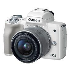 Canon Eos M50 Kit w/Ef-M 15-45mm (White) & Free 64Gb Sdxc *New*
