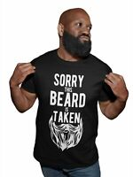 Sorry This Beard Is Taken T Shirt Funny Valentine Gift For Him Bearded Boyfriend