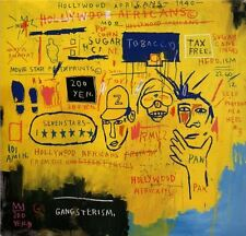 """Jean Michel Basquiat Hollywood African Wall Decor Oil Painting on Canvas 24x24"""""""