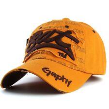 Casquette de baseball bat gaphy réglable NEUF orange