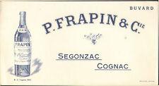 SEGONZAC COGNAC FRAPIN BUVARD BLOTTING PAPER