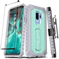 ELV Evolve Live Venture Case Samsung Galaxy S9 Mint/Grey with Holster Belt Clip