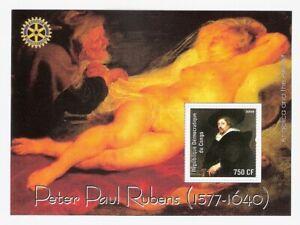 Rubens Paintings Sheet MNH