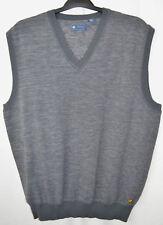 Jack Nicklaus Sweater Vest Gray Heathered Golf Cotton/Nylon Blend Men's XXL