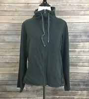 Eileen Fisher Zip Front Jacket (Size: L)
