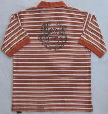 NWT Timberland Boys Orange & White Stripe Polo(Size Large 16/18) NEW