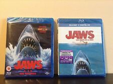 Jaws + Jaws Box Set (Jaws 2 / Jaws 3 - 3D / Jaws: The Revenge) [Blu-ray] *NEW*