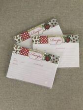 "Recipe Cards 4½"" x 6½"" - Red/Green Fruit Theme - 3 pkgs - Michael's"