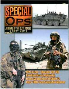 SPECIAL OPS - JOURNAL OF THE ELITE FORCES & SWAT UNITS VOL.40 - CONCORD - NEW